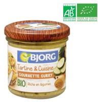 BJORG Tartine et Cuisine Courgette Curry Bio 135g