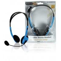 BasicXL casque stéréo bleu