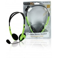 BasicXL casque stéréo vert