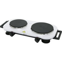 BLACKPEAR BHP 002 Plaque de cuisson - 2 feux - 2250 W - Blanc