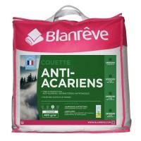 BLANREVE Couette chaude 400gm2 Anti-Acariens 240x260 cm blanc