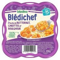 BLEDICHEF Butternut carottes et boulghour 250g