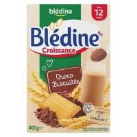 BLEDINA - Blédine croissance Chocolat biscuit 400g