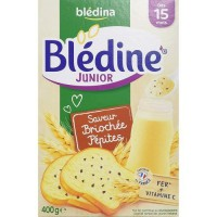BLEDINA - Blédine junior Brioche pépites 400g