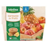 BLEDINA - Coupelles Harmonie de fruits 4x100g