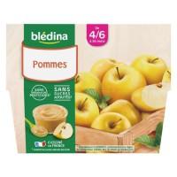 BLEDINA - Coupelles pomme 4x100g