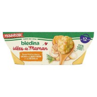 BLEDINA - Les idées de Maman Panais patates douces veau 2 x 200g