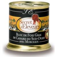 Bloc Foie Gras de Canard avec morceaux (30%) 20...