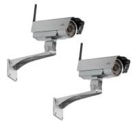 BLUESTORK PACK 2 CAMERAS IP HD CLOUD WIFI VISION DE NUIT - CAM/OF/HD2X