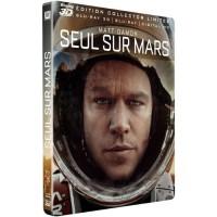 Blu-Ray 3D Steelbook SEUL SUR MARS