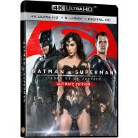 Blu-Ray 4K Batman v Superman : L'aube de la justice - Ultimate Edition - 4K Ultra HD