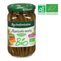Bocal de Haricots verts extra fins - Bio - 180g
