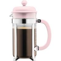 BODUM CAFFETTIERA Cafetiere a piston - 8 tasses - 1 L - Rose pastel