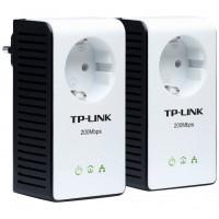 TPLINK KIT DE 2 ADAPTATEURS CPL AV200+ AVEC PRISE SHUKO SECTEUR INTEGRE