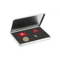 Boîte de 4 pins métal Uncharted 4