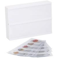 Boîte lumineuse a message Lightbox - Format A5 - 21 x 15 x 4 cm - 8 LED avec 100 caracteres - Blanc