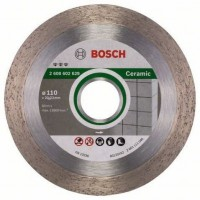 BOSCH Disque a tronçonner diamanté Ceramic - 110 x 22,23 x 1,8 x 10 mm