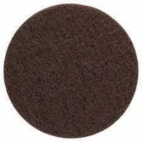BOSCH Eponge abrasive en non-tissé moyen - 128 mm - Lot de 5