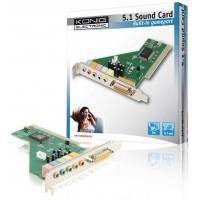 CARTE SON PCI 5.1 KÖNIG
