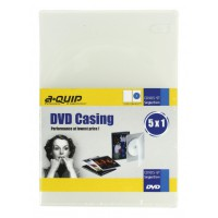Aquip 7mm DVD casing single 5 pieces