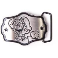 Boucle de ceinture métallique Mario: Mario Bros