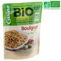 Boulgour Tomates et Olives Vertes Bio - 250 g