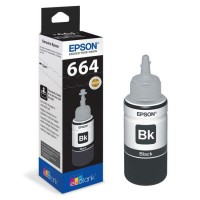 Bouteille d'encre Epson Ecotank T6641 - 70ml Noir