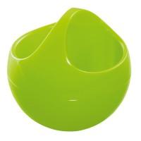 BOWL Boite de rangement maquillage - 9,5 x 10,5 x 10,5 cm - Vert kiwi