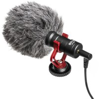 BOYA MM1 Microphone hyper compact Cardioide a condensateur - Câble de sortie TRS & TRRS