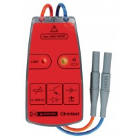 Fluke continuity tester with ohmtest