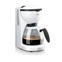 BRAUN KF520/1 Cafetiere filtre CaféHouse PurAroma - Blanc
