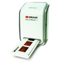 BRAUN NOVOSCAN I Scanner négatifs et diapositives - RÉSOLUTION 1800 DPI - USB 2.0 - Résolution optique 1800 dpi