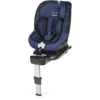 BREVI - Alain i-size Siege auto Pivotant 0-19 kg Bleu/Jeans