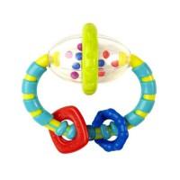 BRIGHT STARTS Hochet Grab & Spin Multicolore
