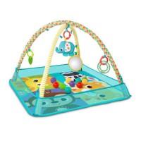 BRIGHT STARTS Tapis de jeu More-in-One Ball Pit Fun - Des la naissance - Bébé mixte