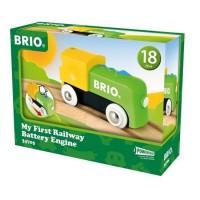 BRIO - 33705 - Ma Premiere Locomotive A Pile - Jouet en bois