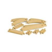 BRIO World - 33401 - Coffret Evolution Debutants -11 Rails - Jouet en bois