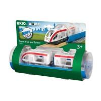BRIO World - 33890 - Train de Voyageurs et Tunnel