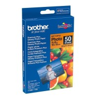 BROTHER Papier photo - Blanc brillant - 100x150mm - 50 feuilles