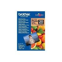 BROTHER Papier photo brillant - 10x15 - 20 feuilles