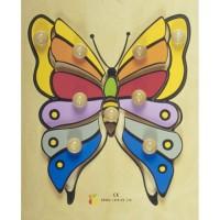BSM Jouet d'encastrement Le Papillon