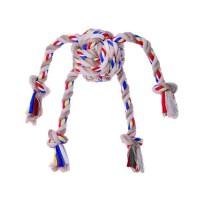 BUBIMEX Jouet corde balle 4 tentacules - Pour chien
