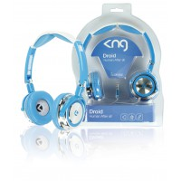 KNG casque Droid - human after all (bleu)