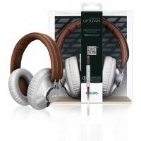 Philips CitiScape headband headphones grey / brown