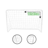 BUMBER But de football - L 107 x 87 cm - Blanc