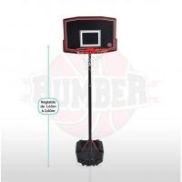 BUMBER Panier de Basket Phoenix réglable - 260cm Basketball