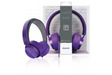Philips CitiScape headband headphones purple