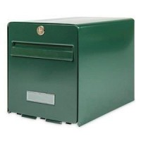 BURG WACHTER Boîte aux lettres Favor en acier galvanisé - 1 porte - Vert