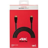 Câble HDMI 4K UlTRA HD 3 m noir Nintendo Switch