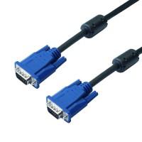 Câble VGA HD15 Mâle 10m - Permet de relier entre eux pour une liaison Vidéo, tout appareil équipé d'embases HD15